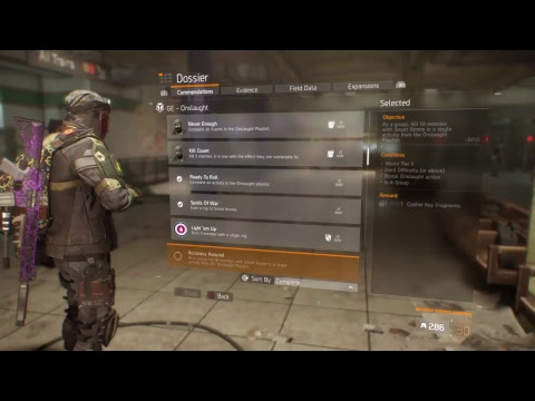 The division PS4 global event ONSLAUGHT