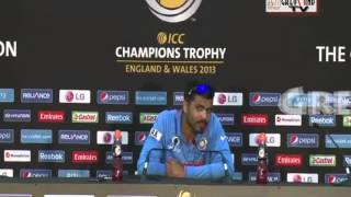 EXCLUSIVE: INSPIRATIONAL PRESS CONFERENCE OF RAVINDRA JADEJA BEFORE TAKING ON PAKISTAN