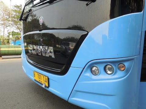 Transjakarta : Scania K320IA Euro 6 CNG Articulated Bus