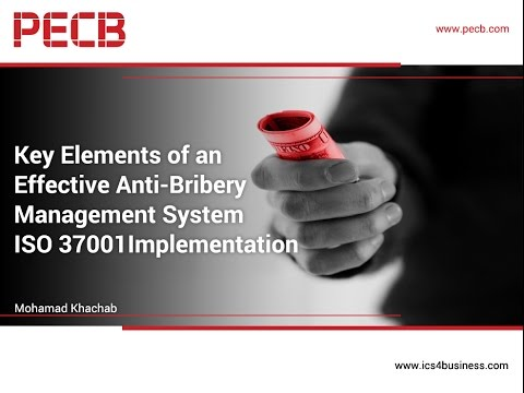Key Elements of an Effective Anti-Bribery Management System Implementation