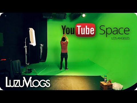 YOUTUBE SPACE Los Angeles - LuzuVlogs