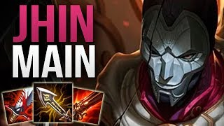 Gambar cover THIS CHALLENGER JHIN MAIN IS AMAZING! | CHALLENGER JHIN ADC GAMEPLAY | Patch 9.11 S9