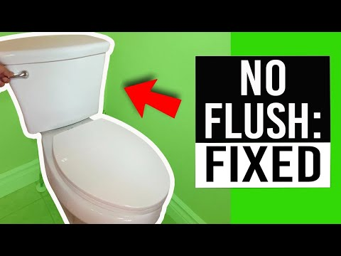 Toilet Won\'t Flush - How to Repair - YouTube