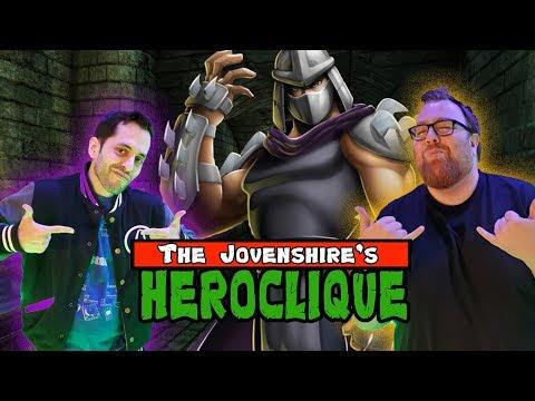 Ninja Turtles Fight Super Shredder! Heroclique