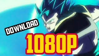 How to download DRAGON BALL SUPER BROLY in 1080p