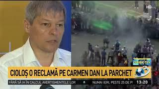 Cioloş depune denunţ penal pe numele ministrului de Interne şi al prefectului Capitalei