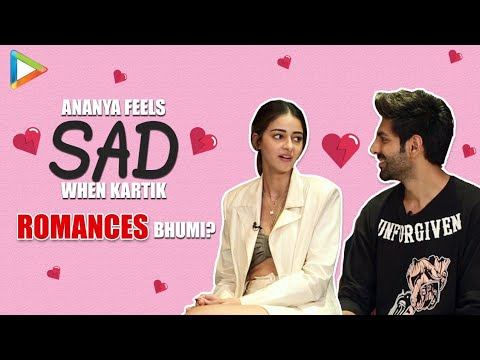 Lit Chat With Kartik Aaryan and Ananya Panday | Pati Patni Aur Woh | Weird Headlines Mp3