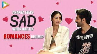 Lit Chat With Kartik Aaryan and Ananya Panday | Pati Patni Aur Woh | Weird Headlines