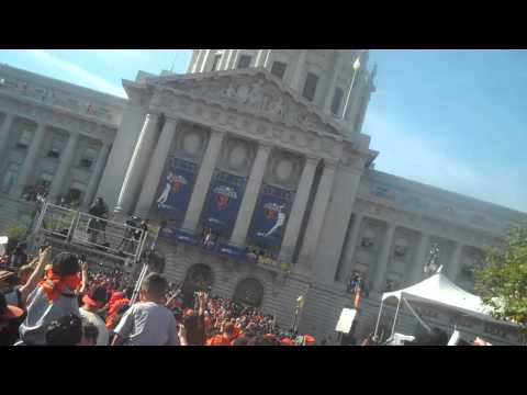 San Francisco Giants Parade Live 2010 Part 1