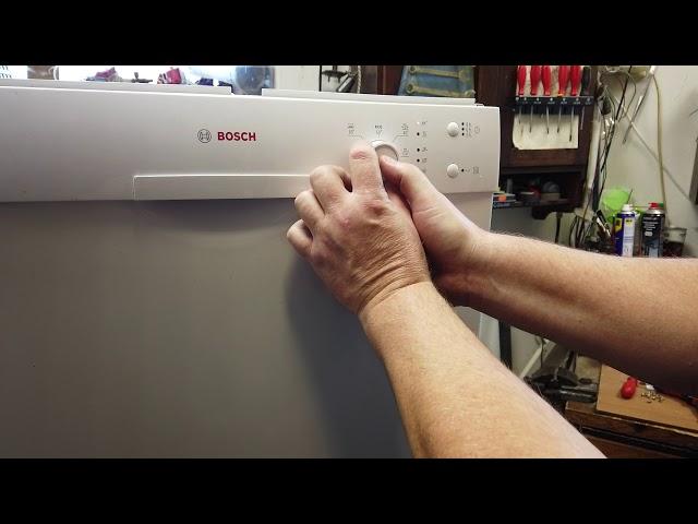 Bosch mosogatógép SMS40E32EU beállítás: Öblítőszer mennyiség, Vízkeménység , Intenzívszárítás