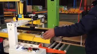 ???? ПРИБЫЛЬ! Автоматическая машина заклейки картонного ящика + стяжка лентами Minipress.ru ВИДЕО ОБЗОР
