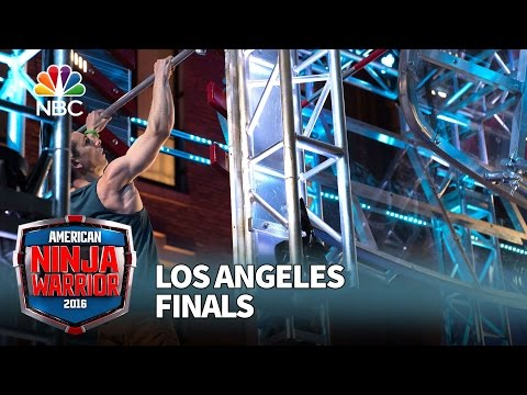 Josh Levin at the Los Angeles Finals - American Ninja Warrior 2016