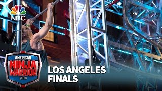 Josh Levin at the Los Angeles Finals - American Ninja Warrior 2016