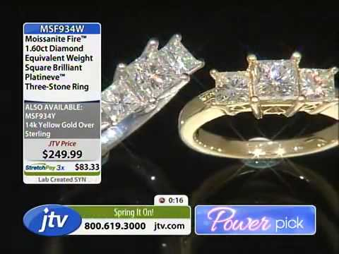 Moissanite Fire With Misty 3 22 2014 12 00 AM Jewelry Television