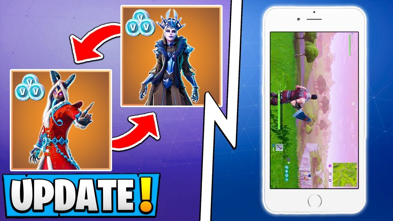 *NEW* Fortnite Update! | Account Merging, Map Changes, The ...