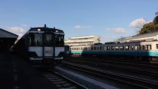 臨時特急やくおうじ 徳島駅発車