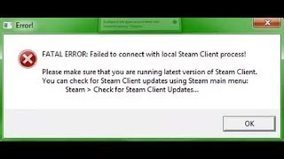Как исправить ошибку КС ГО ПИРАТКА Fatal Eror:Failed to connect with local Steam Client process!