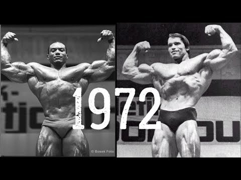 1972 Mr Olympia Review: Sergio Oliva vs Arnold Schwarzenegger