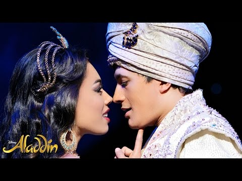 BEHIND THE SCENES AT ALADDIN THE MUSICAL / Nishi V