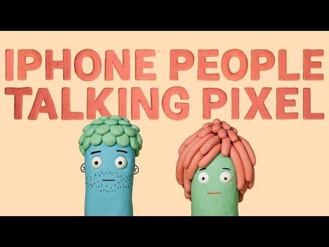 IPhone People Talking Pixel 2 - Charlie & Regan Talk Google Photos
