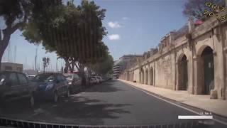 QQLX 0090 MALTA trip from Gzira to Floriana - Street View Car 2013