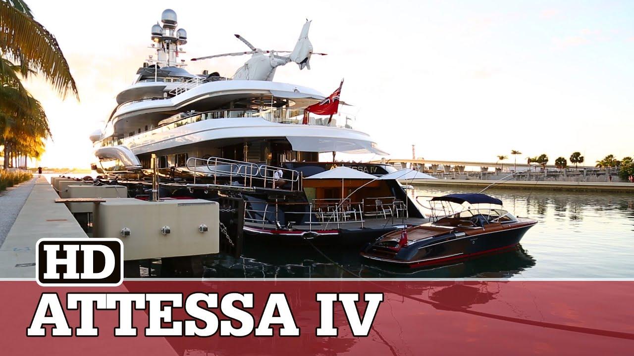 Massive Yacht Of Billionaire Dennis Washington Has Attracted Even
