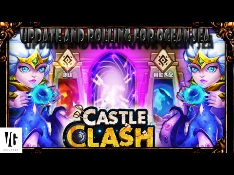 Castle Clash March Update And Rolling Gems For Ocean Queen!!!
