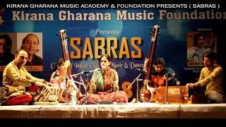 SABRAS Music and Dance Festival 2018: Shahana Ali Khan