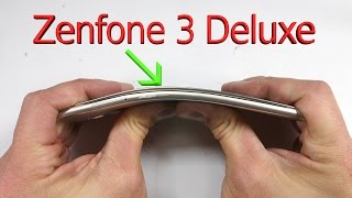 Zenfone 3 Deluxe Durability Test - an 'All Metal' Design? - Asus