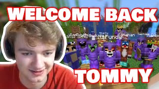 Tommy Is Finally BACK In L'Manberg And READY For FINAL WAR! DREAM SMP