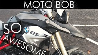 2017 BMW F800 GS Test Ride & Review - Love This Bike!