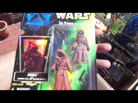 Star Wars Action Figures Video Games +. Flea Market Garage Yard Estate Sale Finds Pick-Ups - 4/13/17