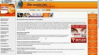 DVD-Verleih im Internet - Tutorial zu dvd-verleih.info
