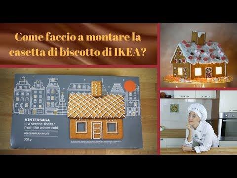 Casetta Di Natale Ikea : Casetta di pan di zenzero ikea facile montaggio youtube