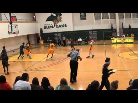 Glen Oaks Community college Basketball Andre Flowers sophomore highlights #24
