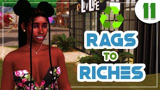 ♻️ Recycled Rags to Riches ♻️The Sims 4 Eco Lifestyle 🌿 #11 On to the New