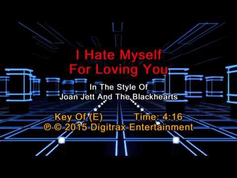 Joan Jett - I Hate Myself For Loving You (Backing Track)