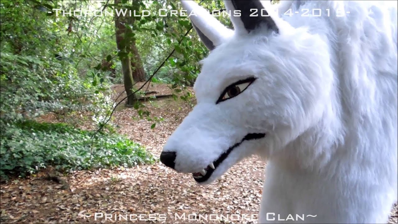 Walk With A Wolf Moro Puppet From Princess Mononoke Thoronwild