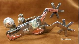 Handmade Spurs - Handcrafted Texas - Spur Making Bit and Spur Making Videos - Bruce Cheaney