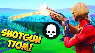 *WORLD RECORD* 170M SHOTGUN KILL!! - Fortnite Funny Fails and WTF Moments! #514