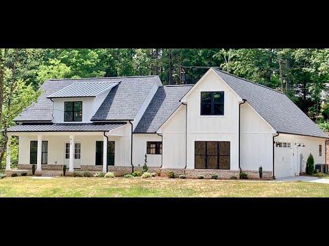 Amazing Modern Farmhouse in Charlotte PresPro Custom Homes - Dover Plan Walkthrough