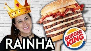 MEGA STACKER 4.0 Catupiry | O lançamento do Burger King
