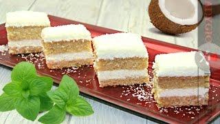 Prajitura Raffaello | Raffaello Cake - Adygio Kitchen