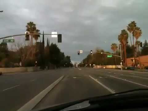 Driving in Bakersfield , CA