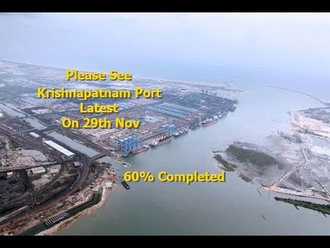 Latest achievement by AP CM CBN Bangalore-Chennai Industrial corridor In Krishnapatnam