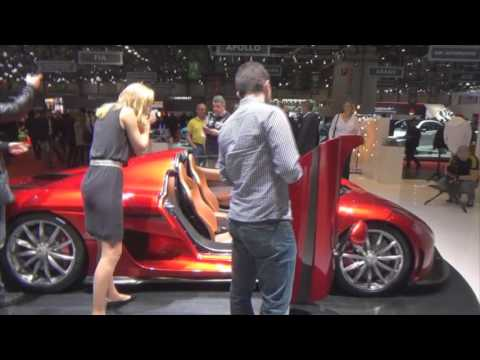 Full tour of Geneva Motor Show 2016