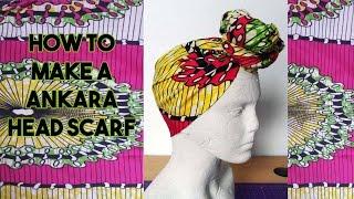 Download Video DIY: How to make an Ankara Head Scarf - Craftbrulee MP3 3GP MP4