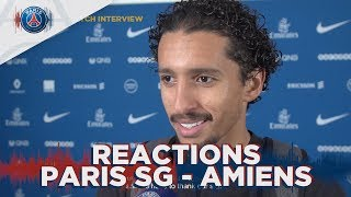REACTIONS : Paris Saint Germain 5 - 0 SC Amiens