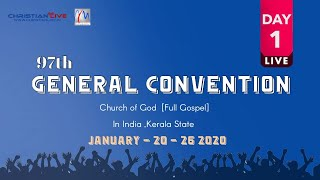 CHURCH OF GOD 97TH GENERAL CONVENTION 2020 | DAY 1
