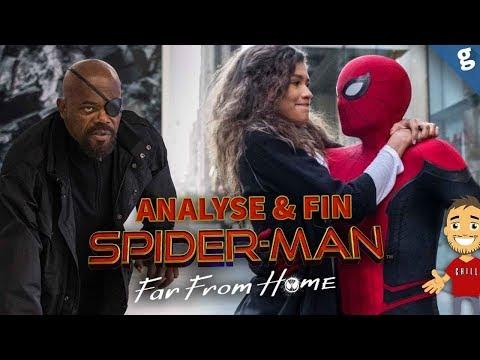 EXPLICATIONS & FIN de SPIDER-MAN FAR FROM HOME